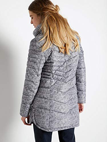 Taille longue Couleur 54 Balsamik Doudoune gris Imprime femme 1wCppq