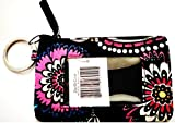 Vera Bradley Zip ID, Womans Wallet, ID holder, Credit Card Pouch, Coin Purse in Bandana Swirl