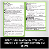 Robitussin Adult Maximum Strength Cough + Chest
