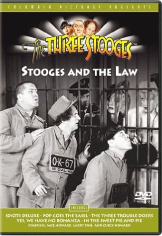 The Three Stooges - Stooges and the Law (3 Idiots compare prices)