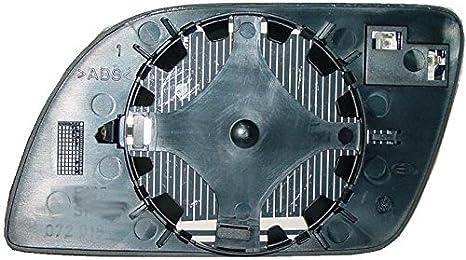 Cristal placa retrovisor Polo 2001-2005 derecho térmico: Amazon.es ...