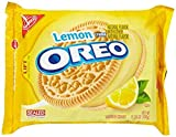 Oreo Sandwich Cookies - Lemon Creme - 15.25 Ounces (Pack of 2)