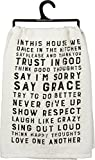 ''In This House'' Dish Towel - Set Of 3