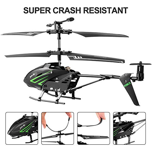 HisHerToy Remote Control Helicopter with Gyro and LED Lights 3.5 Channel RC Helicopter for Kids Adul - http://coolthings.us