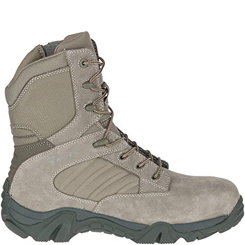 Bates GX-8 Sage Composite Toe Side Zip Boot Men 16 ()