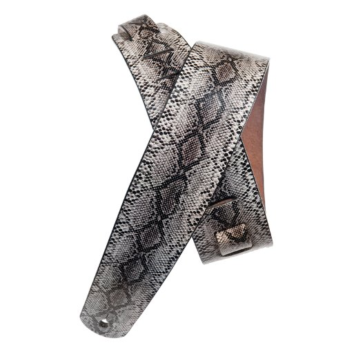Planet Waves Leather Guitar Strap, Python