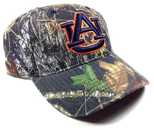 (Auburn Tigers Solid Mossy Oak Camo Hat)