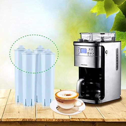 paquete de 4 compatible con ENA3//4//5//9 Filtro de repuesto para espresso autom/ático compatible con Jura J9//C60//F50 Cafoier Filtros Filtro de agua para m/áquina de caf/é Jura Claris Azul