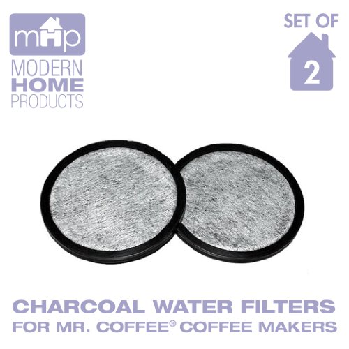 Water Filter Replacement Discs, Replaces Mr. Coffee WFF-3 Water Filter Discs- Set of 2