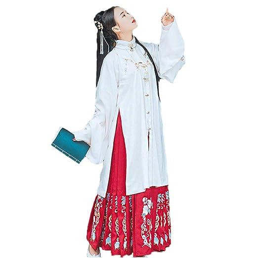 YCWY Traje Vintage para Mujer, Vestido Chino de la dinastía ...