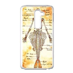 Mermaid Skull Dead Body White LG LG2 case