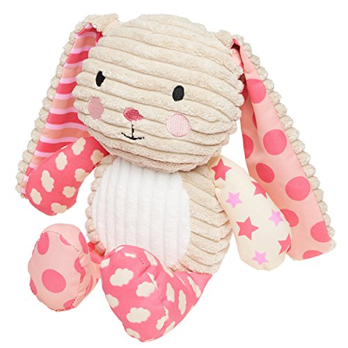 Lil' Prayer Buddy Pink Lullaby Bunny Musical Stuffed Animal Plays Jesus Loves Me Lullaby Bunny