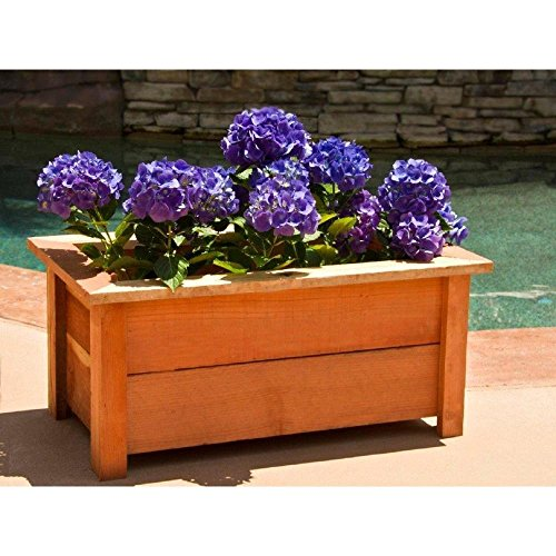 18 in. x 31 in. Red-Wood Planter ()