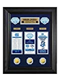 North Carolina Tar Heels 2017 NCAA Champs Deluxe Gold Coin & Ticket Collection