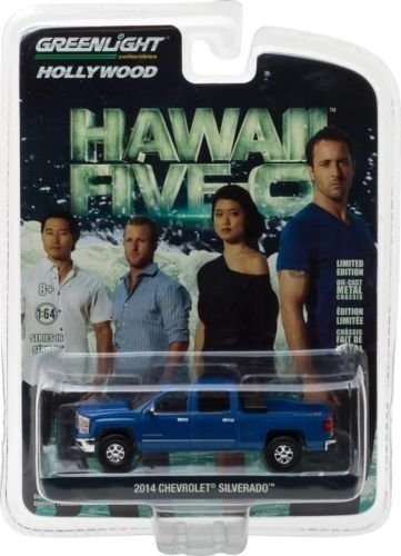 greenlight-164-hollywood-series-16-2014-chevrolet-silverado-hawaii-five-o-2010-current-tv-series-447