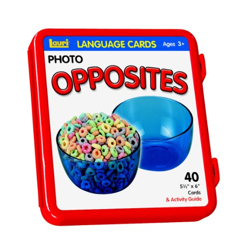 Lauri Photo Language Cards - Opposites (Flash Opposites Cards)