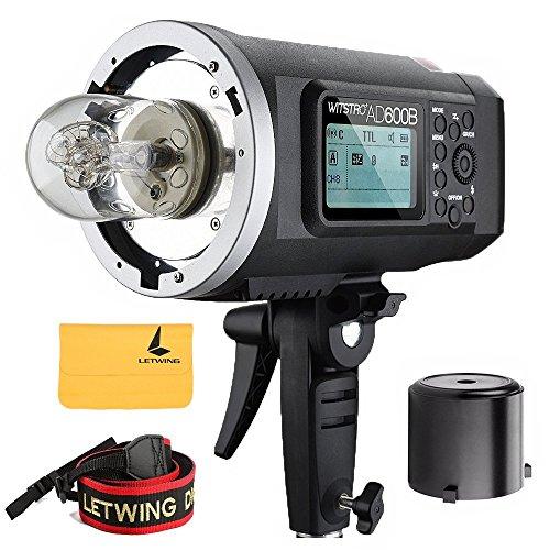 Godox AD600B TTL Bowen Mount GN87 600W HSS 1 / 8000s 2.4G Wireless 8700mAh Lithium Battery Outdoor Studio Strobe Flash,Godox X1T-C Flash Trigger for Canon EOS DSLR Camera by Godox (Image #1)