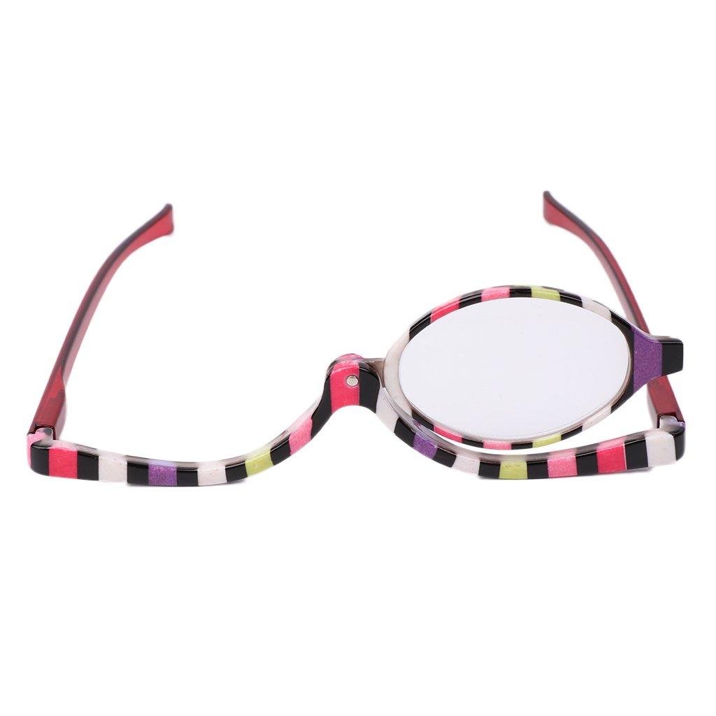 +2.5 SLYlive Color/é Lunettes de Maquillage,Accessoire Maquiller,Lunettes de Mode 1.0~+4.0