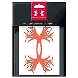 "Under Armour 6""Antler Logo Decal (Blaze Orange, Sold Individually)"