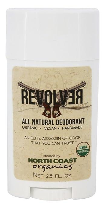 North Coast Organics - All Natural Deodorant Revolver - 2.5 oz.