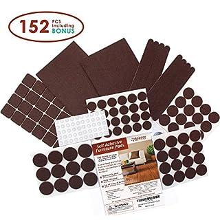 Kitchen Cabinet Doors Replacement 16x14 Seddox Premium Felt Furniture Pads  Set 152 Pieces Including Bonus Rubber