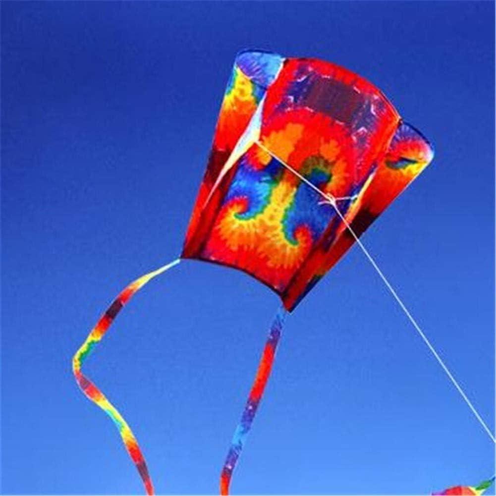 Kyman 2020 Cometa, Cometa Niños Cometas de Colores for los niños fácil de Volar for la Playa al Aire Libre con 200cm Colas 30m High-End Rollo (Color: Tipo 1)