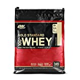 Optimum Nutrition Gold Standard 100% Whey Protein Powder, Vanilla Ice Cream, 10 Pound