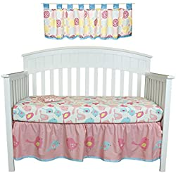 Sweet Tweet 4 Piece Bird Nursery Decor Set by Belle