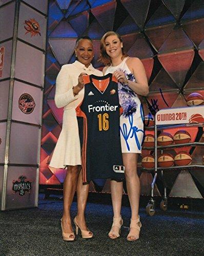 (RACHEL BANHAM signed (CONNECTICUT SUN) WNBA basketball 8X10 photo W/COA #4 - Autographed WNBA Photos)