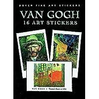 Van Gogh: 16 Art Stickers, Portada puede variar