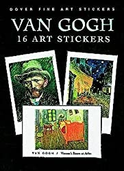 Van Gogh: 16 Art Stickers (Dover Art Stickers)