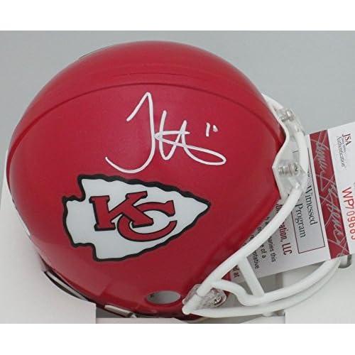 c4c1e971 Autographed Chiefs Receiver Tyreek Hill Signed Riddell Mini Helmet ...