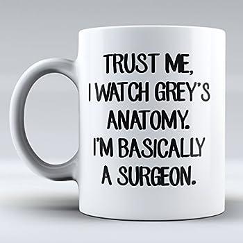 amazoncom trust me i watch greys anatomy im