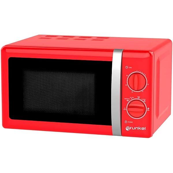Klarstein Nevera con frigorífico rojo: Amazon.es: Grandes ...