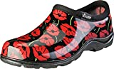 Sloggers Women's Waterproof  Rain and Garden Shoe with Comfort Insole, Poppy Red, Size 9, Style 5116POR09