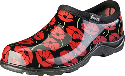 Sloggers Women's Waterproof  Rain and Garden Shoe with Comfort Insole, Poppy Red, Size 9, Style 5116POR09 by Sloggers (Image #3)