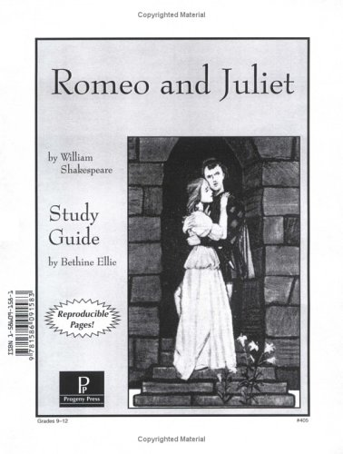 Romeo & Juliet Study Guide (Romeo And Juliet Reading And Study Guide)