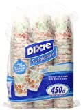 Dixie Cold Cups, 5oz., Floral Design (Color and design may vary) Sold As 450 Count