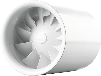 Rohreinschubventilator Soundless Turbine Duo 100mm Beleuchtung