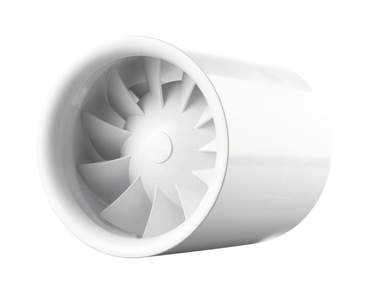 Rohreinschubventilator Soundless Turbine Duo 100mm