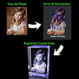 Personalized Custom 3D Holographic Photo Etched
