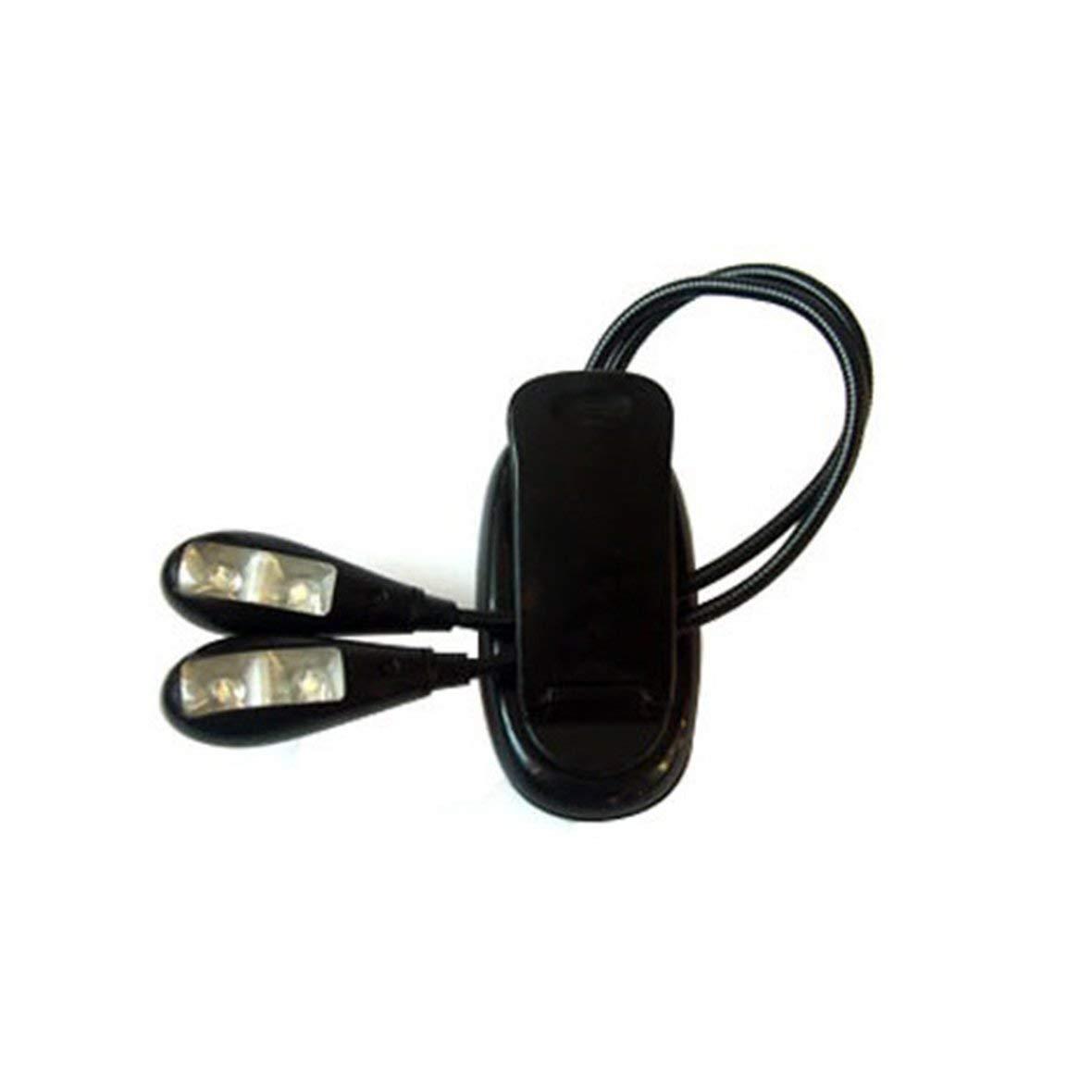 Heaviesk Pince de Lecture de Livre de Haute qualit/é de Lampe de Lecture de Livre sur la Lampe de LED