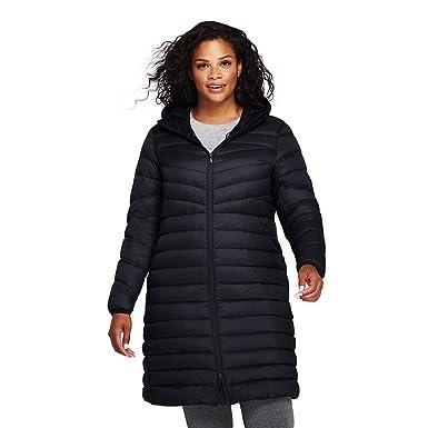 4cc527ad2f7 Lands  End Women s Plus Size Ultralight Packable Down Coat