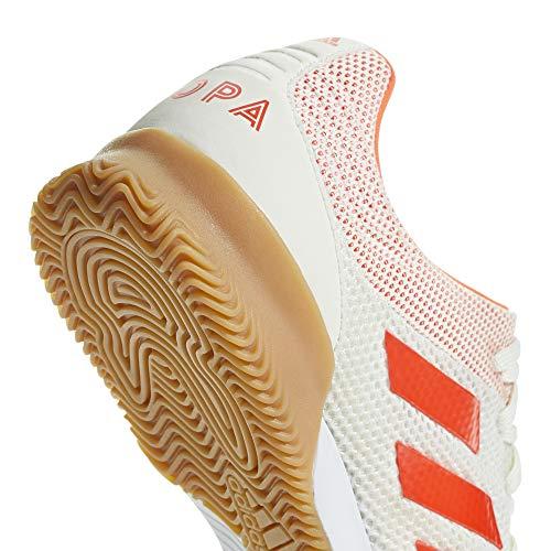 d9fe5e4f0a SHOPUS | adidas Copa 19.3 Indoor SALA, White/Solar red/Gum, 12 M US