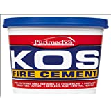 Everbuild EVBKOSBUF1K KOS Ciment réfractaire Buffle 1kg