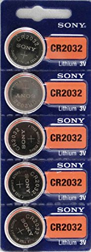 Sony Lithium 3V Batteries CR2032 Used By 2017