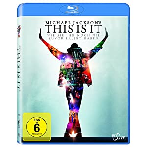 511P8KRyZkL. SL500 AA300  Michael Jacksons This Is It [Blu ray] für 9,97€ incl. Versand