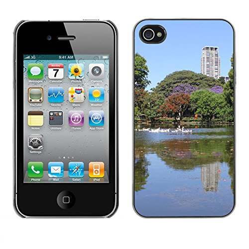 Premio Sottile Slim Cassa Custodia Case Cover Shell // F00004517 Lac // Apple iPhone 4 4S 4G
