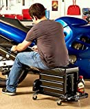 NEW ROLLING WORK SEAT WITH BUILT-IN TOOL BOX ,product_by: pegathas-treasures it#149162165914287