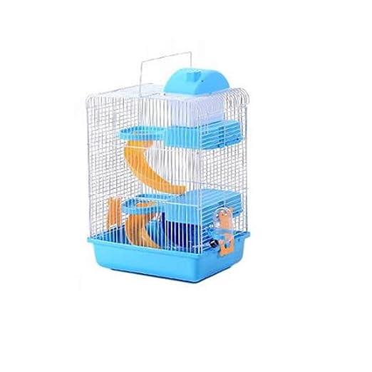 WXH Hamster Travel Cage Portador portátil para Animales pequeños ...